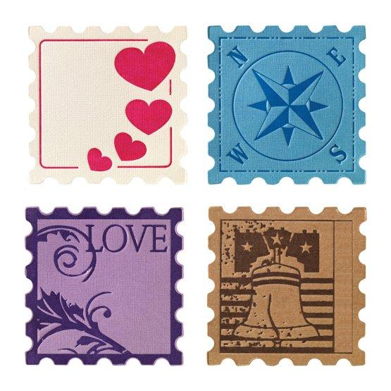 Набор средних текстурно-печатных штампов «Клеймо»