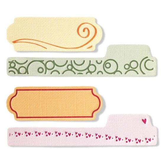 Набор малых текстурно-печатных штампов «Теги»