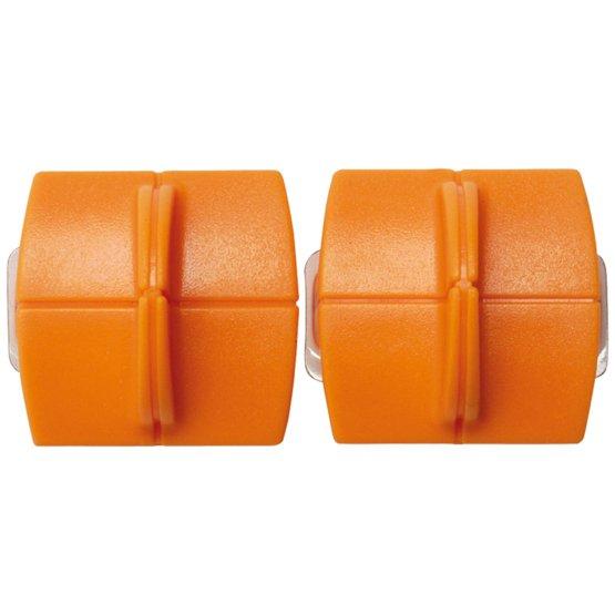 Комплект сменных лезвий TripleTrack™ с титановым покрытием 2шт. Прямая линия разреза