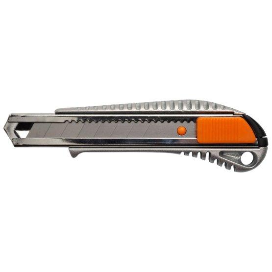 Профессиональный металлический канцелярский нож 18мм