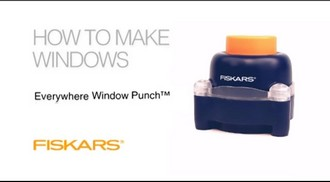 "Компостер Everywhere Window Punch™ ""Рамка"""