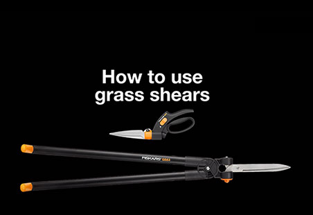 Ножницы для травы с Серво-системой